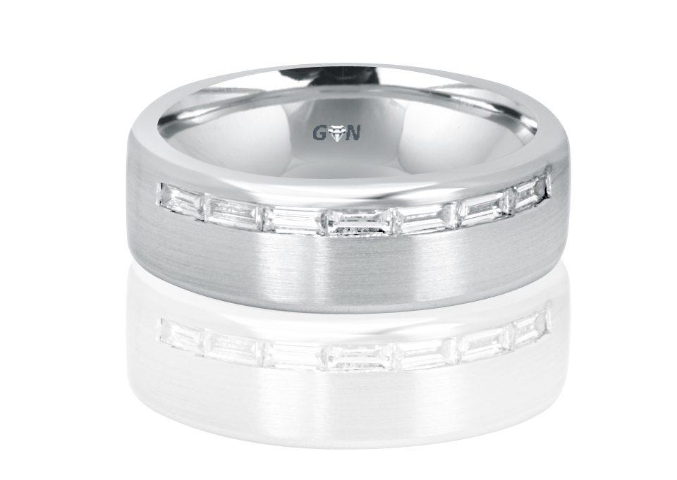 Gents Diamond Ring - R1048 - GN Designer Jewellers