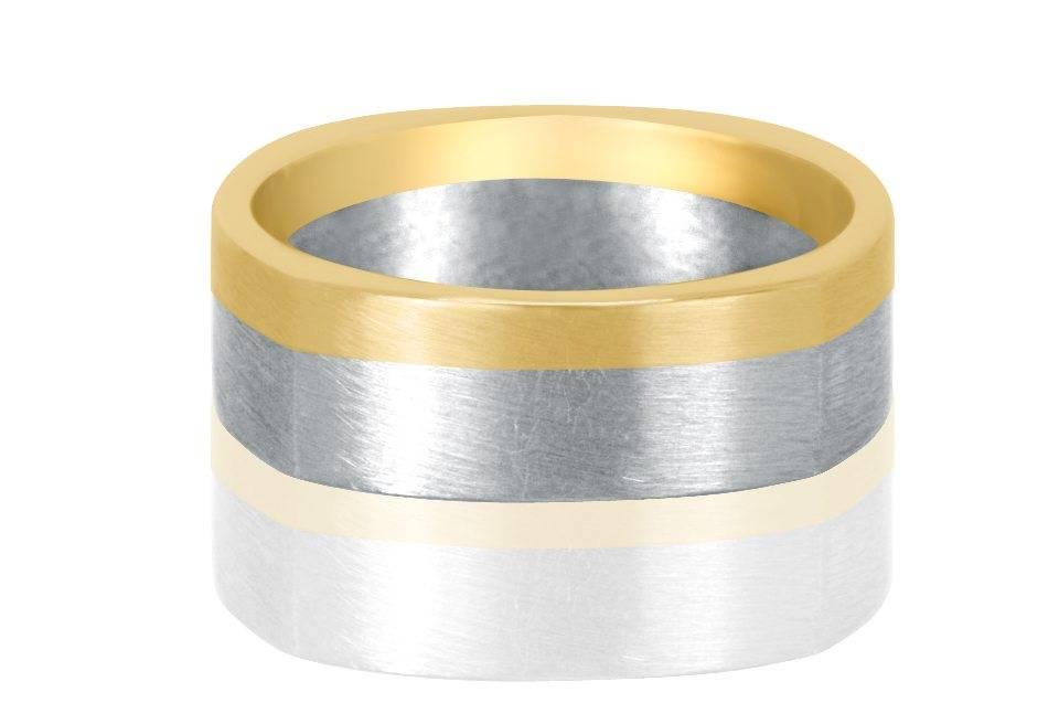 Gents Wedding Rings - R1139 - GN Designer Jewellers