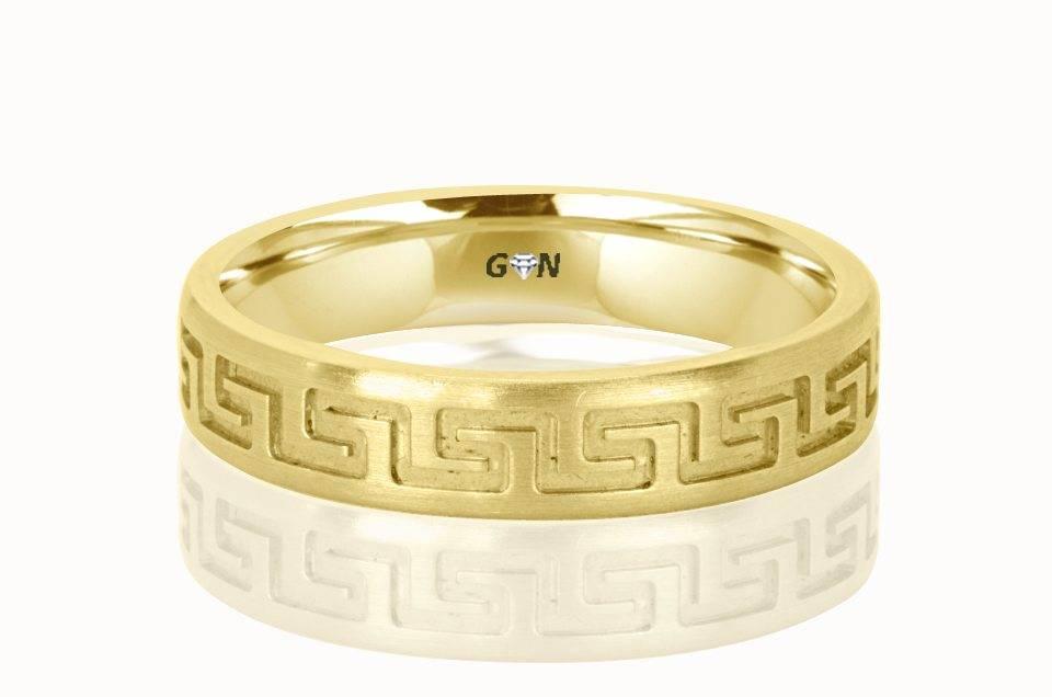 Gents Wedding Ring - R179 - GN Designer Jewellers