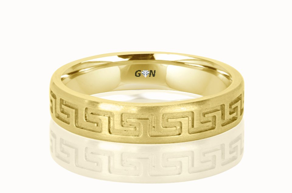 Gents Wedding Ring - R179 - GN Designer Jewellers