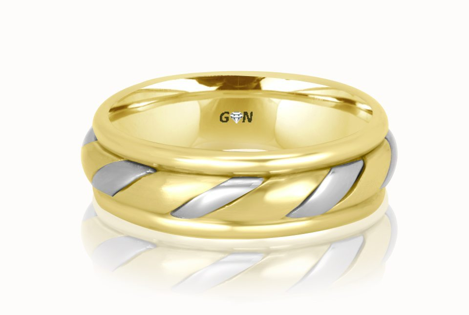 Gents Wedding Ring - R186 - GN Designer Jewellers