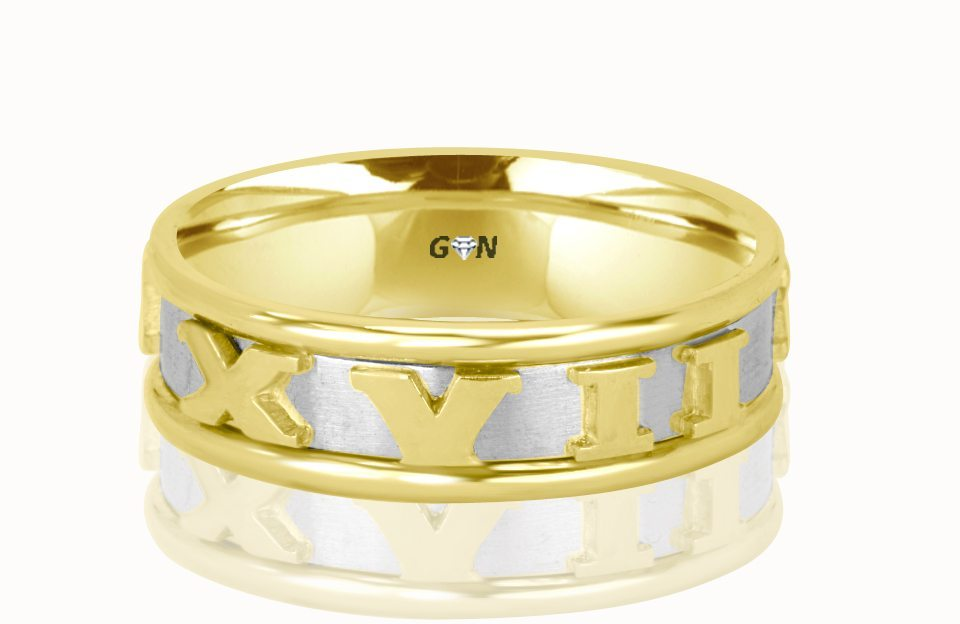 Gents Wedding Ring - R190 - GN Designer Jewellers