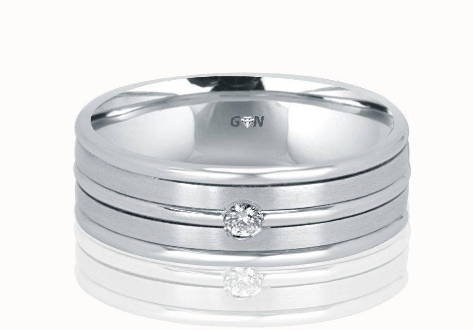 Gents Diamond Ring - R329 - GN Designer Jewellers