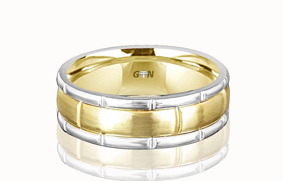 Gents Wedding Ring - R369 - GN Designer Jewellers