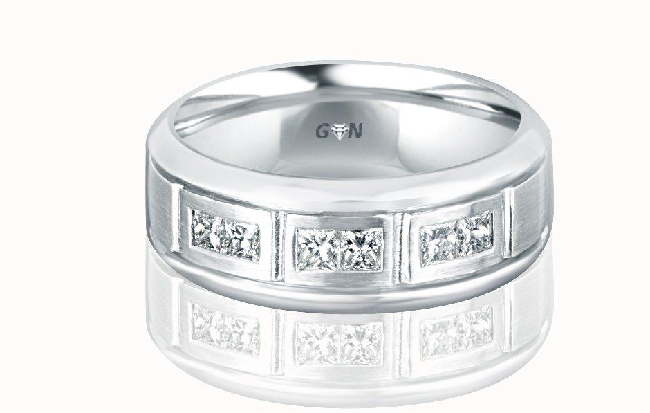 Gents Diamond Ring - R478 - GN Designer Jewellers