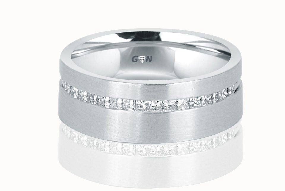 Gents Diamond Ring - R480 - GN Designer Jewellers