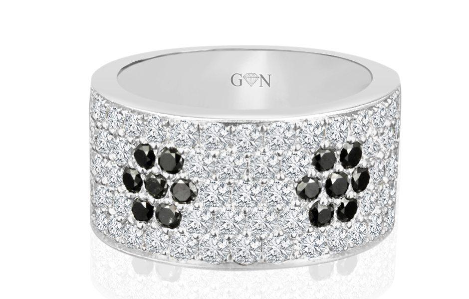 Gents Diamond Ring -R540 - GN Designer Jewellers