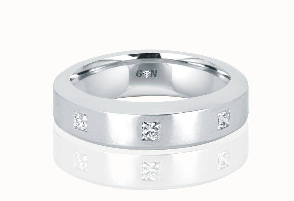 Gents Diamond Ring - R548 - GN Designer Jewellers