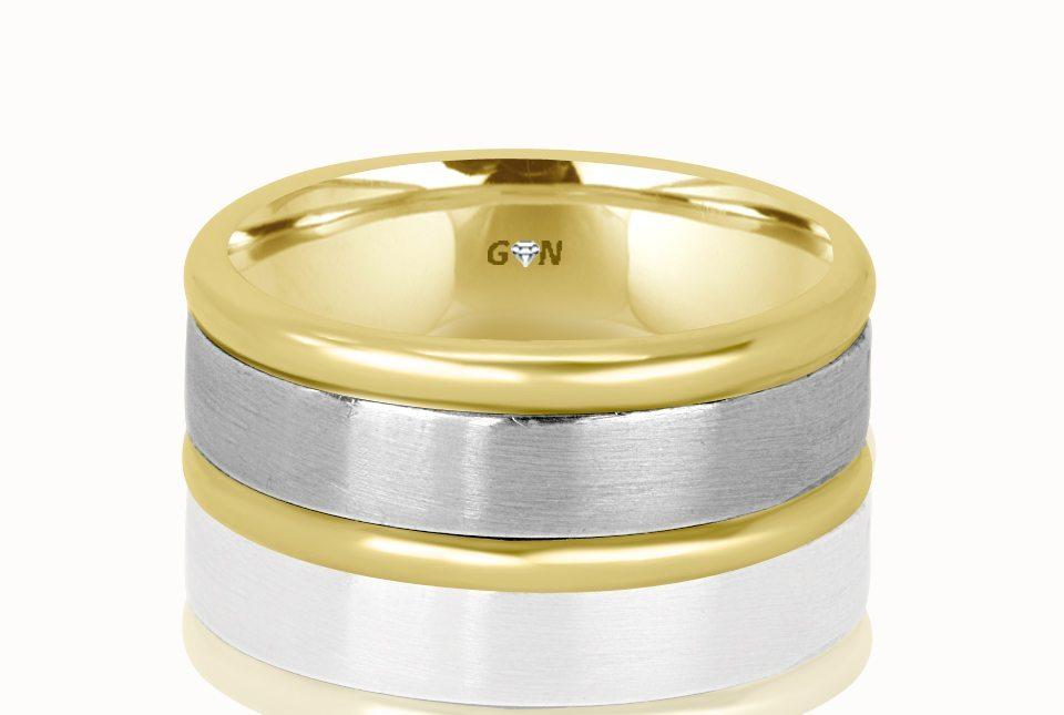 Gents Wedding Ring - R606 - GN Designer Jewellers