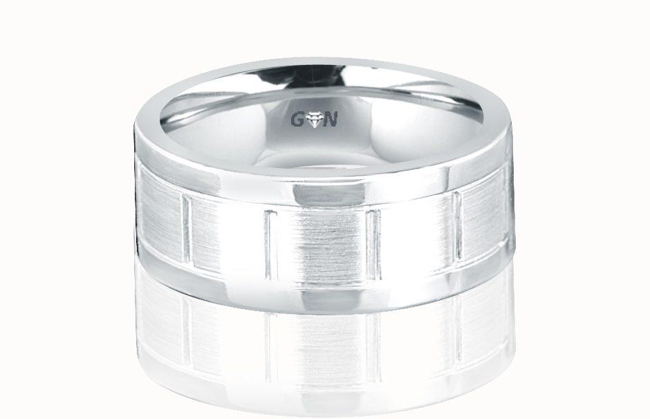 Gents Wedding Ring - R627 - GN Designer Jewellers