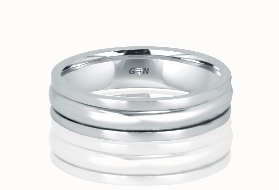 Gents Wedding Ring - R706 - GN Designer Jewellers