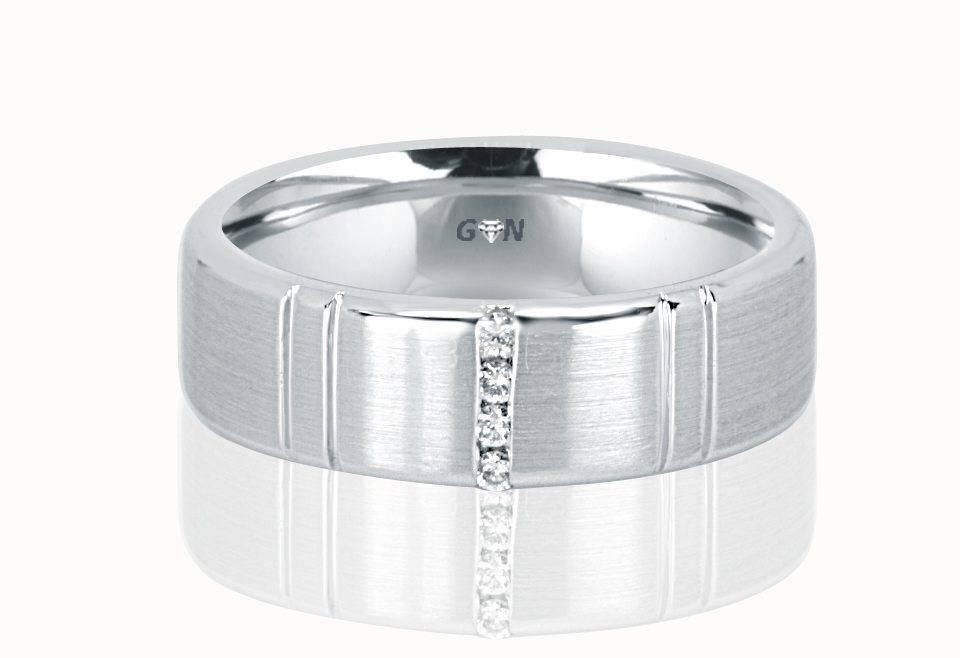 Gents Diamond Ring - R865 - GN Designer Jewellers