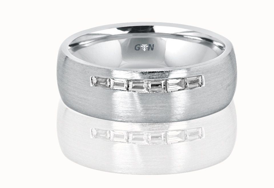 Gents Diamond Ring - R898 - GN Designer Jewellers