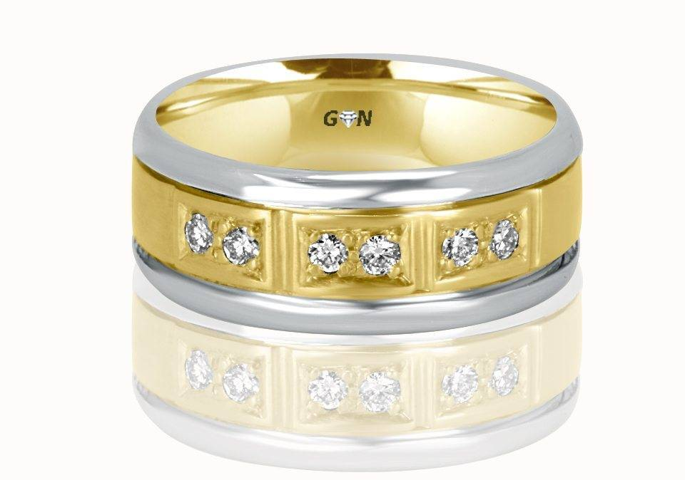 Gents Diamond Ring - R918 - GN Designer Jewellers