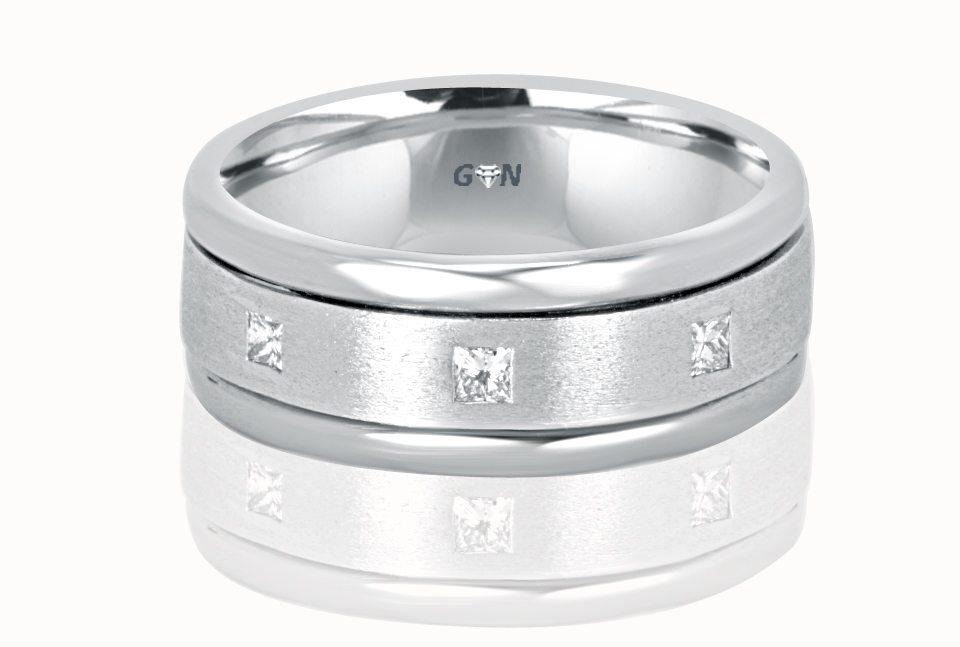 Gents diamond Ring - R924 - GN Designer Jewellers