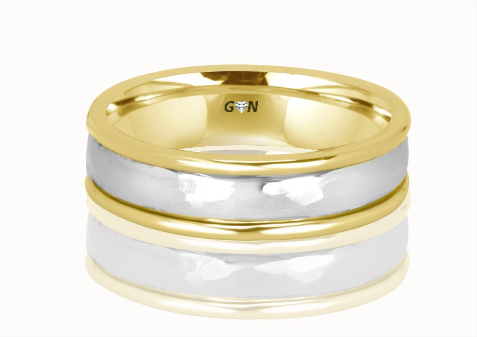 Gents Weddding ring - R955 - GN Designer Jewellers
