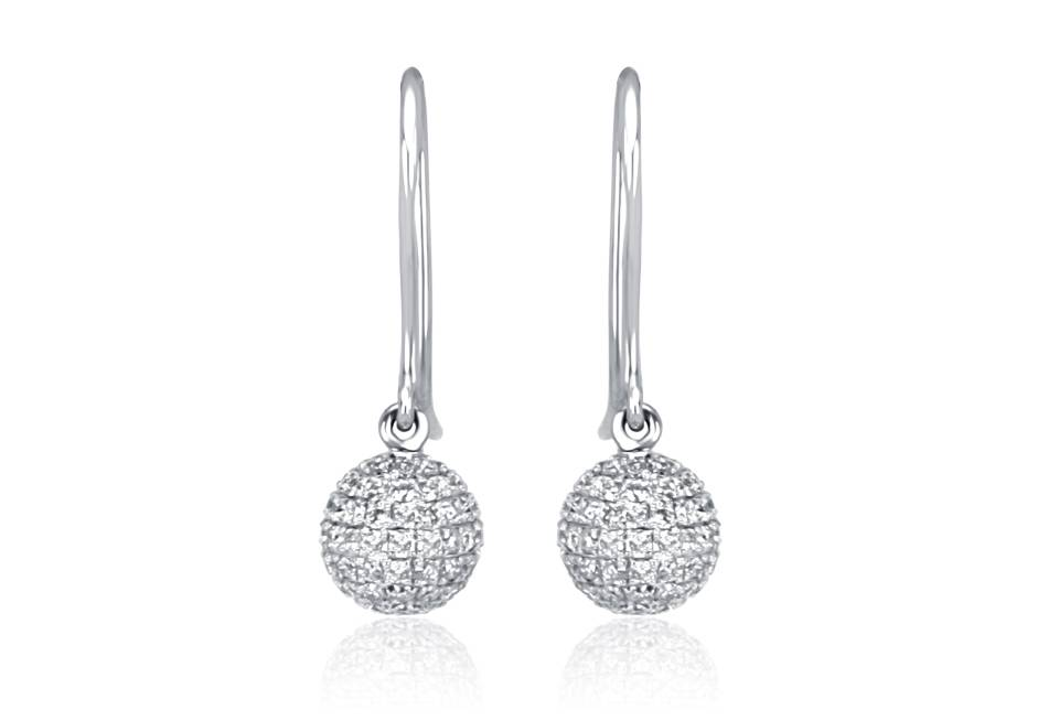 Diamond Earrings - ARD010 - GN Designer Jewellers