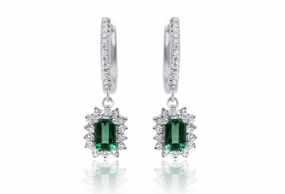 Diamond Earrings - DE246 - DE246 - GN Designer Jewellers