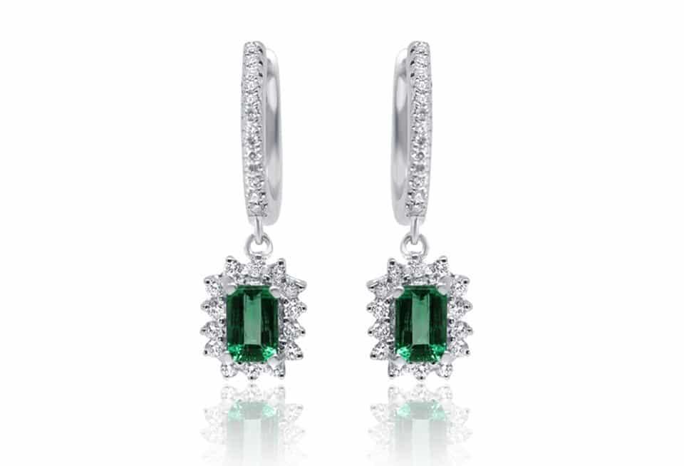 Diamond Earrings - DE246 - DE246 - GN Designer Jewellers