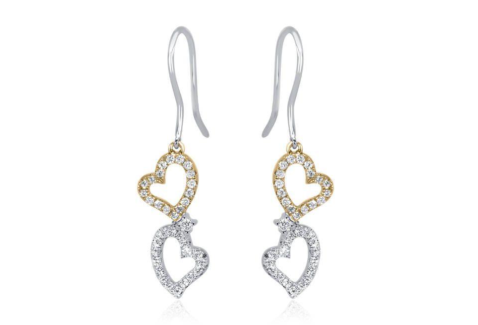 Diamond Earrings - DE257 - GN Designer Jewellers