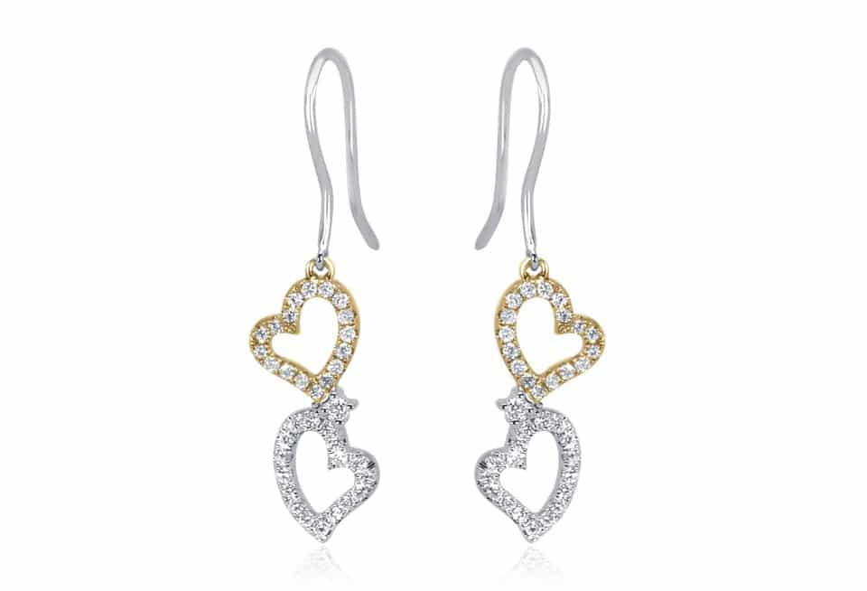 Diamond Earrings - DE257 - GN Designer Jewellers