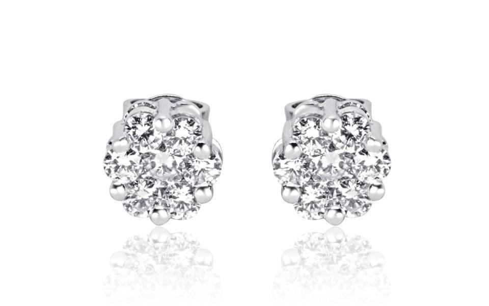 Diamond Earrings - DE71 - GN Designer Jewellers