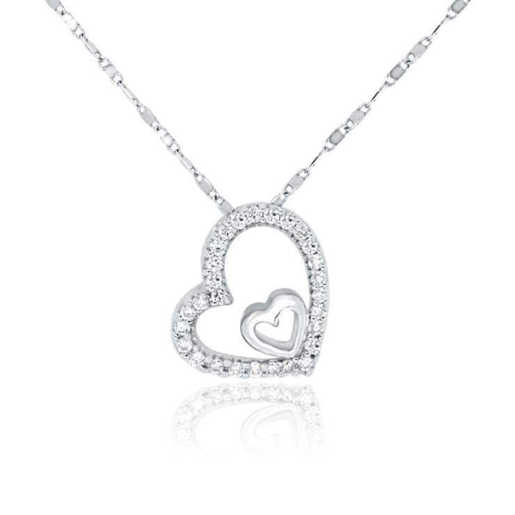 Diamond Pendant - DP138 - GN Designer Jewellers