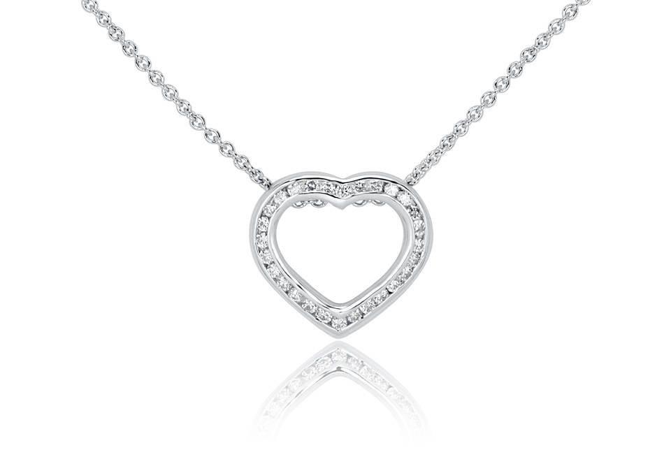 Diamond Pendants - DP142 - GN Designer Jewellers
