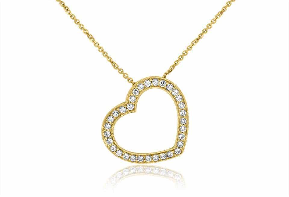 Diamond Pendant - DP221 - GN Designer Jewellers