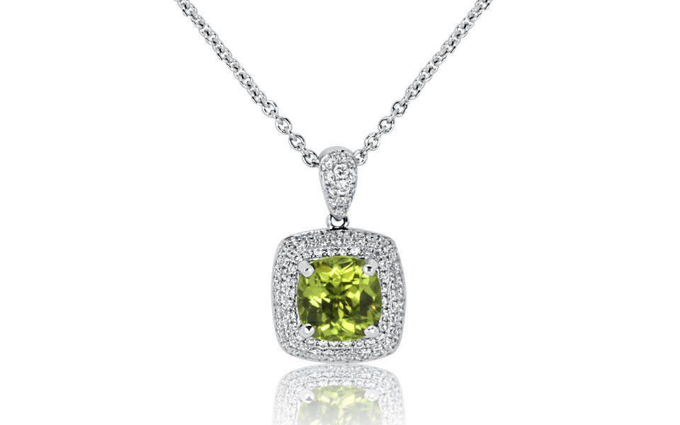 Diamond Pendant - DP224 - GN Designer Jewellers