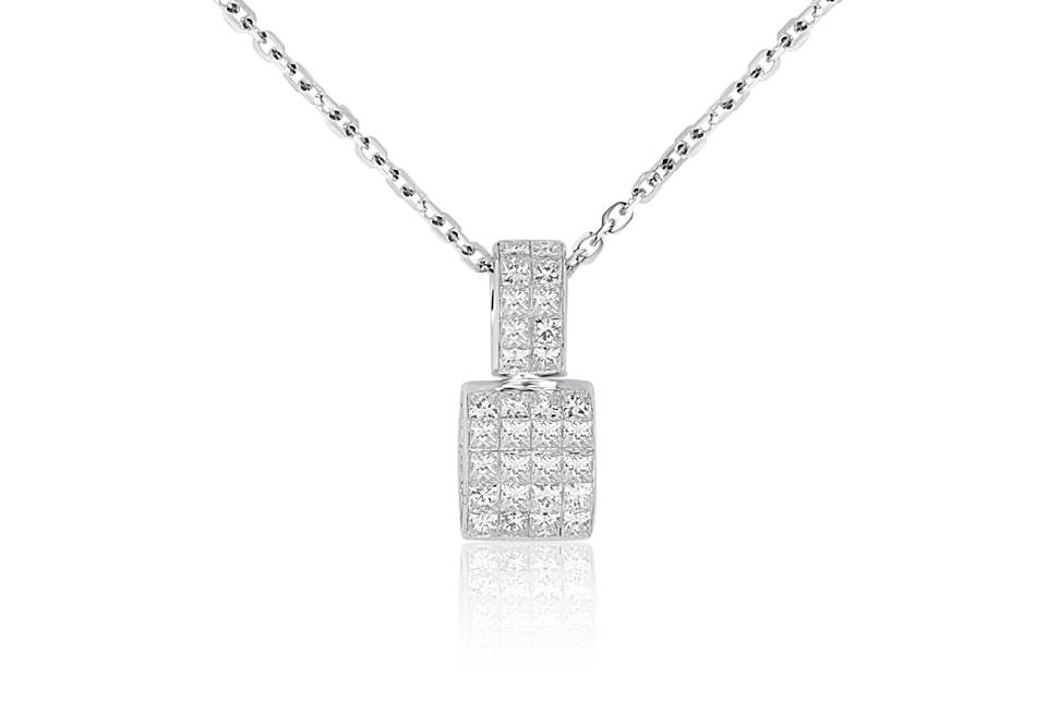 Diamond Pendant - DP226 - GN Designer Jewellers