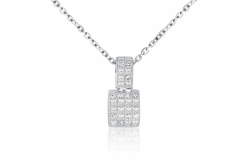 Diamond Pendant - DP226 - GN Designer Jewellers