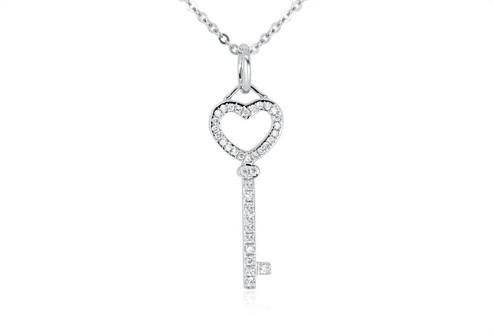 Diamond Pendant - DP243 - GN Designer Jewellers
