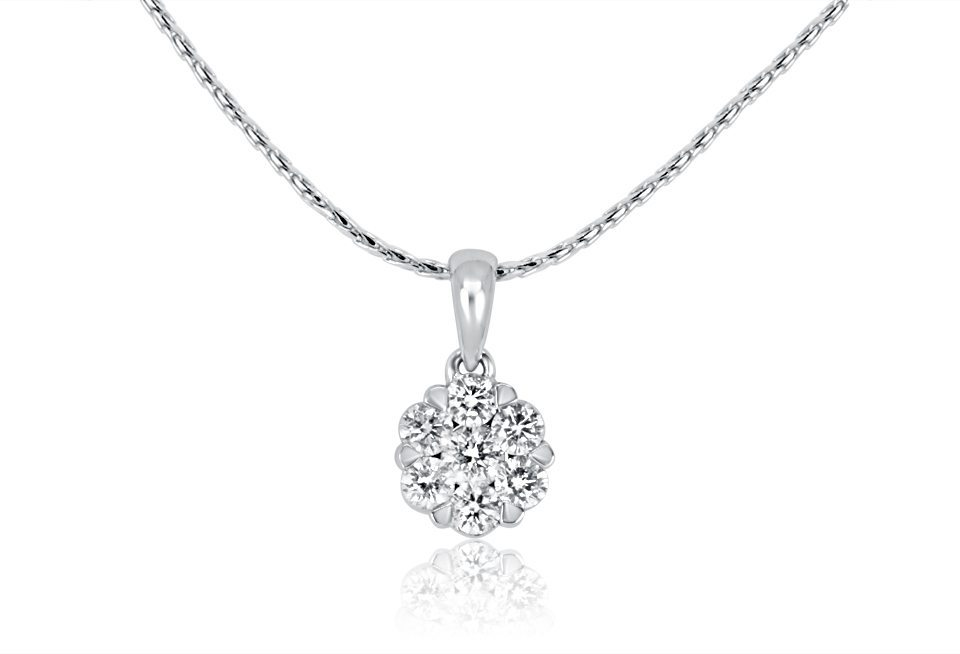 Diamond Pendant - DP262 - GN Designer Jewellers