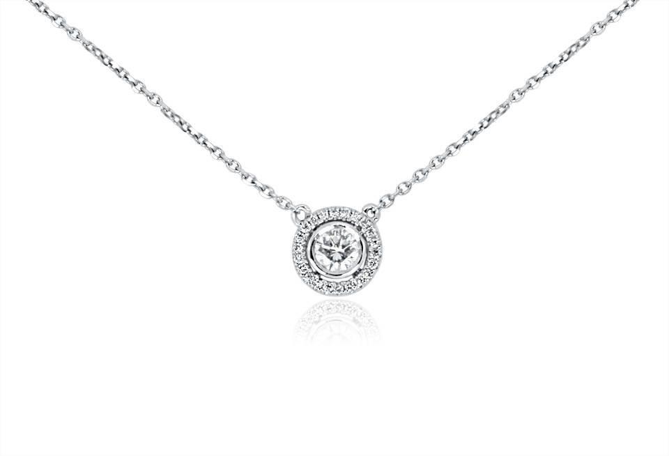 Diamond Pendant - DP301 - GN Designer Jewellers