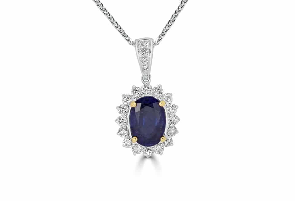 Diamond Pendant - DP304 - GN Designer Jewellers