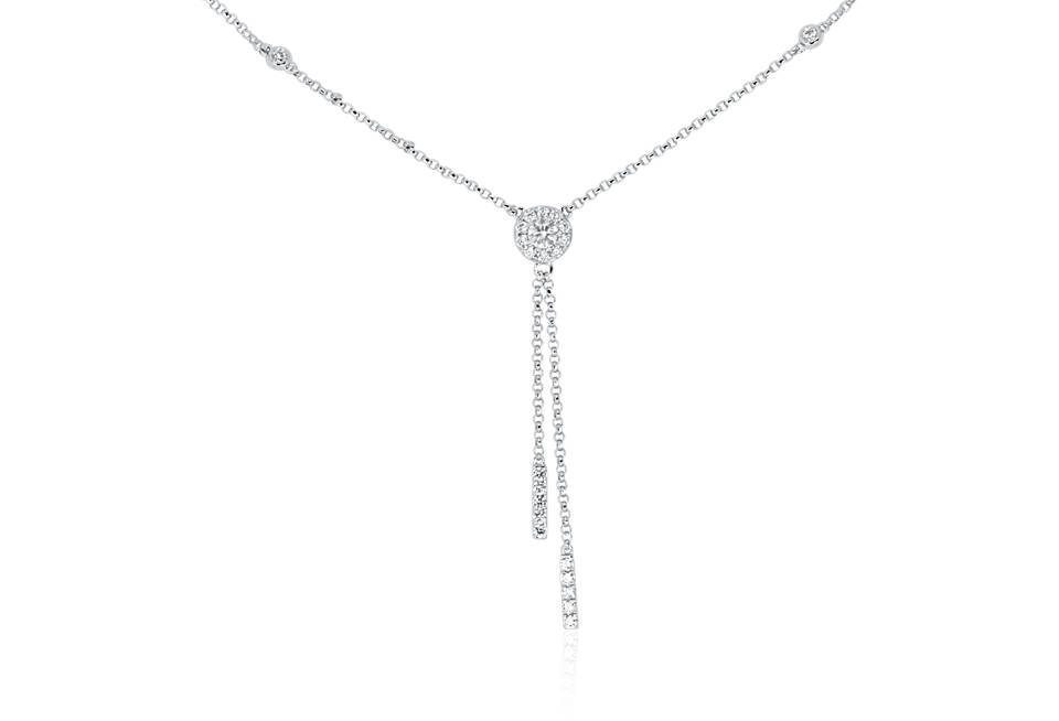 Diamond Pendant - DP312 - GN Designer Jewellers