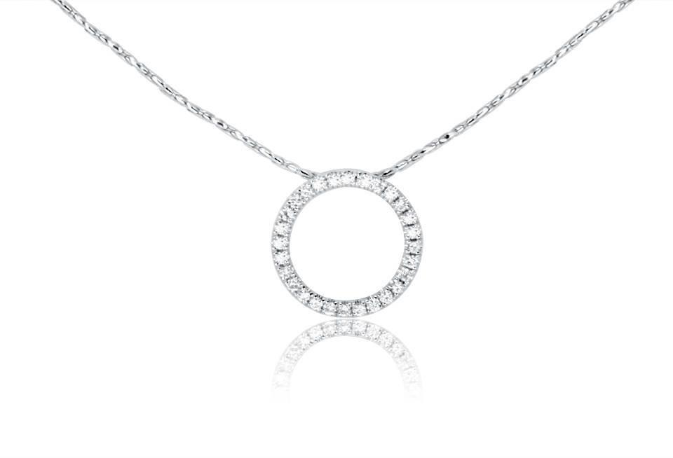 Diamond Pendant - DP062 - GN Designer Jewellers