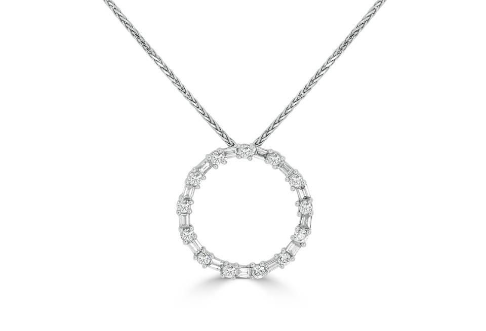 Diamond Pendants - DP192 - GN Designer Jewellers